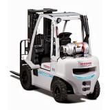 Xe Nâng Forklift Chạy Xăng - LPC NISSAN